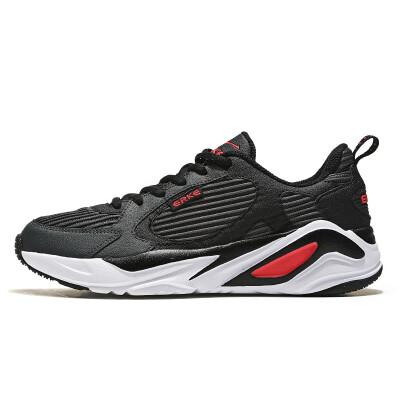 Hongxing Erke sneakers womens new casual shoes shoes running shoes retro old shoes womens shoes tide 12118420361 carbon gray black 36
