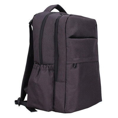 Lan Duo Mummy bag shoulder large capacity out of the package computer bag multi-function QZ0918 business gray