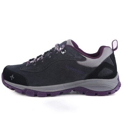 Jingdong supermarket Pathfinder TOREAD Outdoor couple models ladies slip wear walking shoes TFAA92055 Dark gray dark purple 37 yards