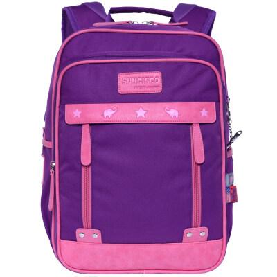 SUNCISCO children's school bag British style primary school students bag leisure simple fashion backpack bag CFL0012C purple