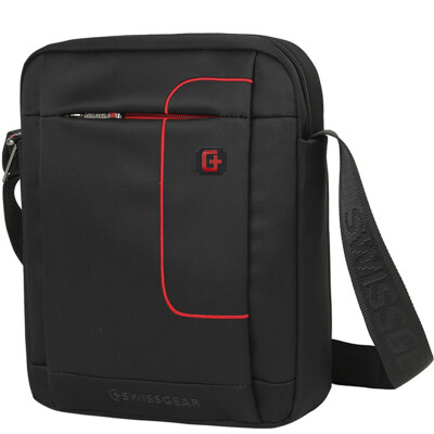 Jingdong Supermarket SWISSGEAR Shoulder Bag Vertical Business Fashion Shoulder Messenger Bag Sports Casual Bag iPad Bag SA-9926 Black