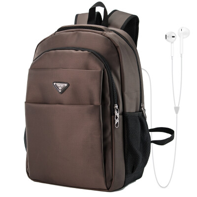 Kerier large capacity series shoulder bag male business Korean casual female backpack high school student bag travel travel 16-inch computer bag travel package khaki