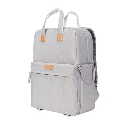 MatchstickMen FC-7016 casual shoulder bag fashion multi-function bag notebook business backpack shoulder camera camera bag classic gray