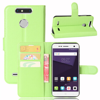 GANGXUN ZTE Blade V8 Mini Case PU Leather Magnetic Flip Wallet Card Cover for ZTE Blade V8 Mini