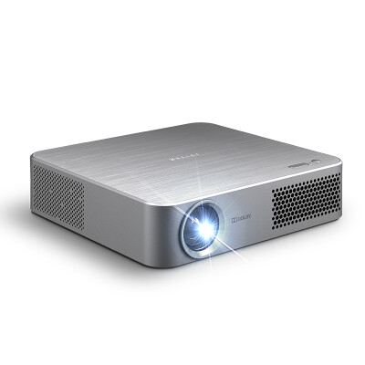 Micro Whale (WHALEY) F1 Home Projector Projector (1200 lumens 800P HD resolution voice control with 3 months membership phone / smart / miniature projector)