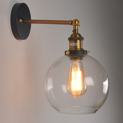 "Ceiling- or Wall Lights 1 of 5 7.9/"" white glass globe chrome Pretty vtg"