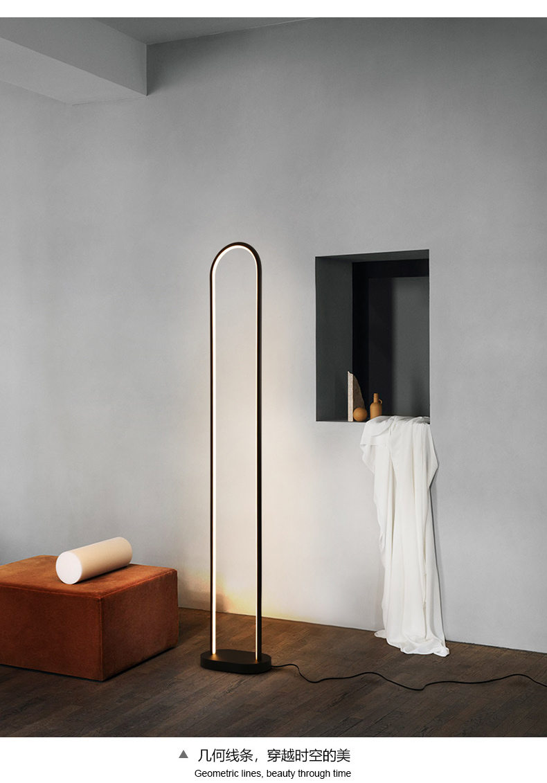 Lights & Lighting Lamps & Shades Postmodern Novel Floor Lamp Nordic Creative Industrial Living Room Decor Fixtures Designer Floor Lamps Bedroom Standing Lights Strengthening Sinews And Bones