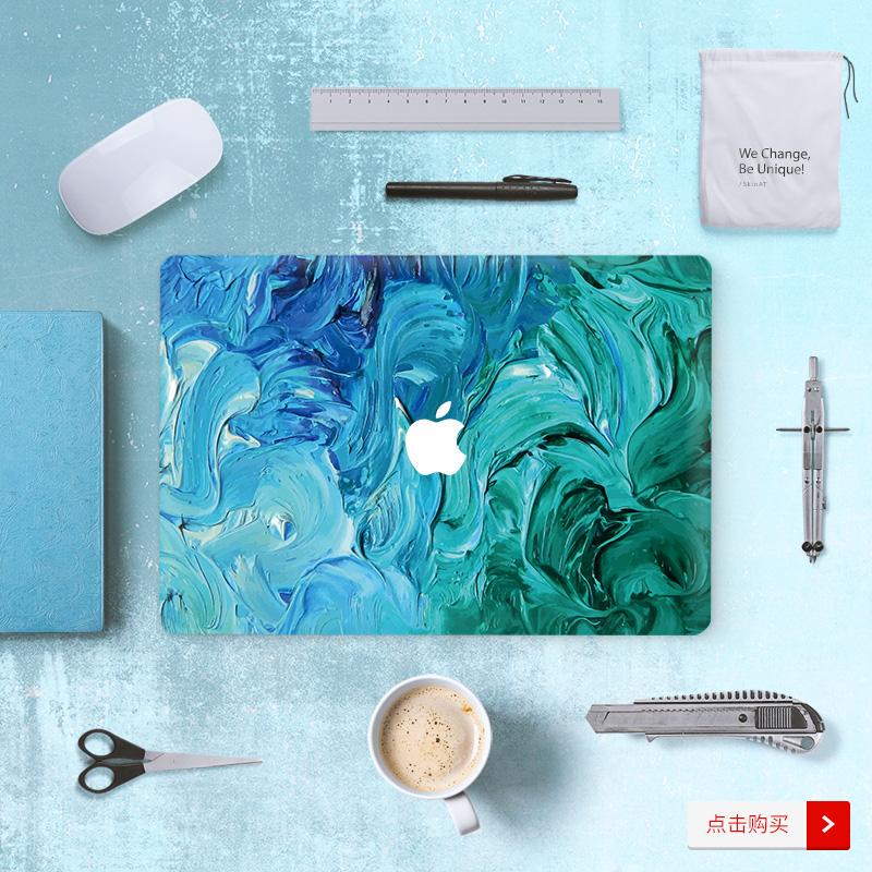 Dán Macbook  SkinAT MacBook ProAir Pro 13 TouchBar 79610 - ảnh 3