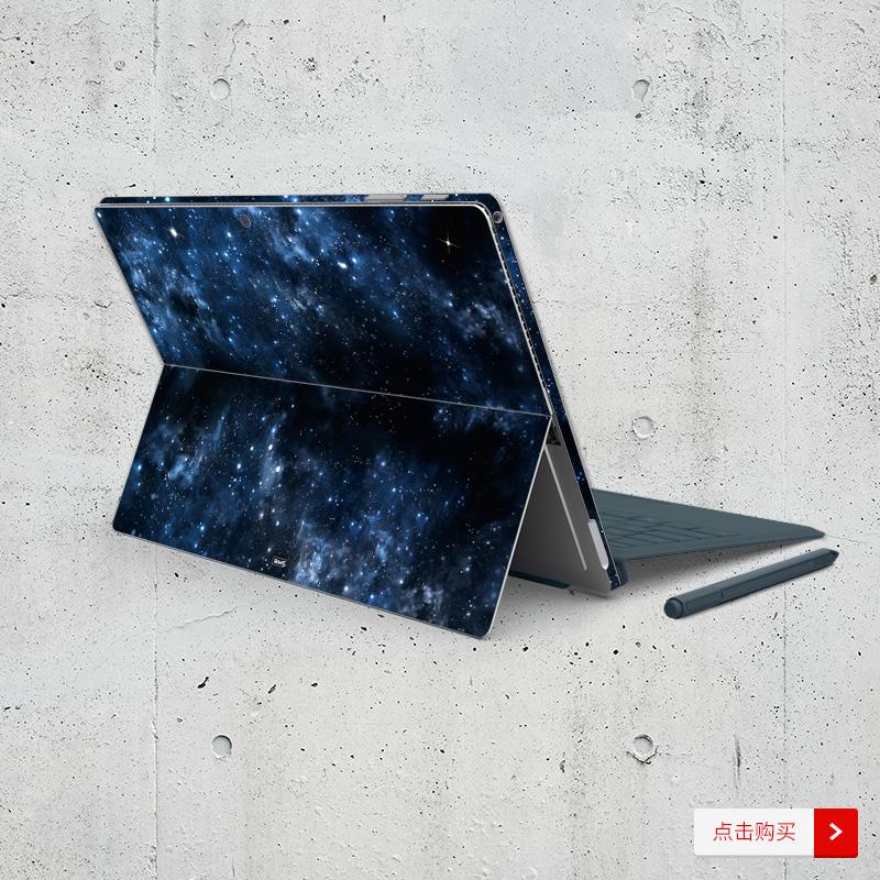 Dán surface  SkinAT Surface Pro Surface Pro 6 Galaxy - ảnh 6