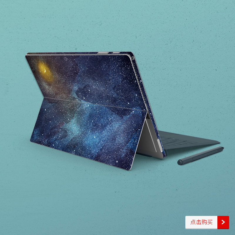 Dán surface  SkinAT Surface Pro Surface Pro 6 Galaxy - ảnh 9