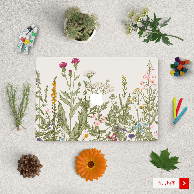 Dán Macbook  SkinAT MacBook Pro 13 TouchBar - ảnh 4