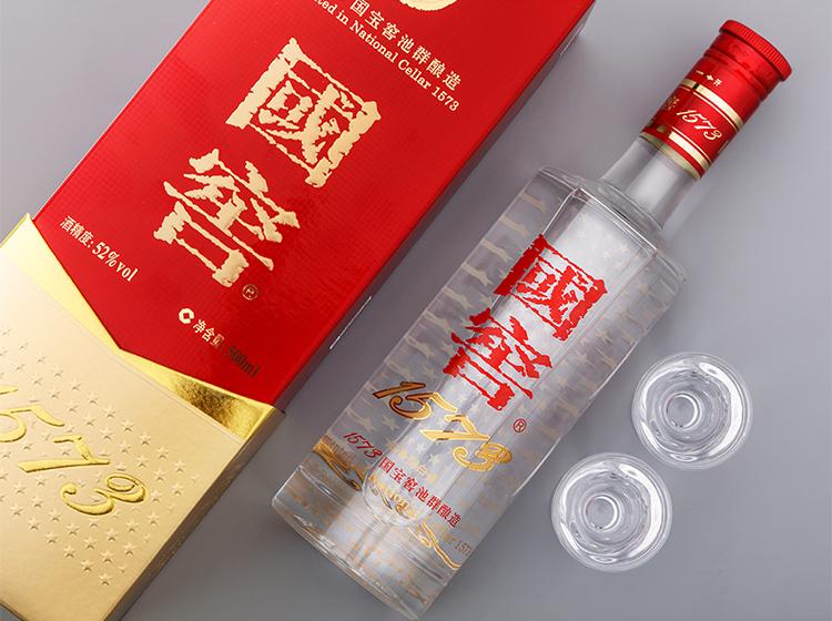 泸州老窖 国窖1573 浓香型白酒 52度 500ml 双重优惠折后¥813.1