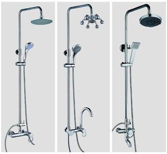 淋浴房花洒安装高度_淋浴花洒的高度设定与安装 - 京东