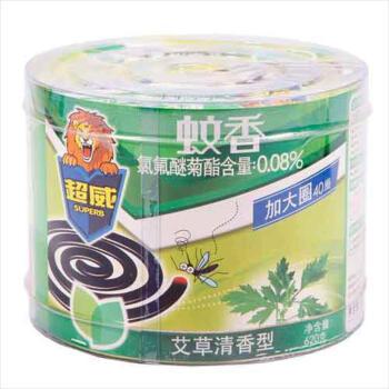 超威蚊香(艾草清香型) 40盘/盒