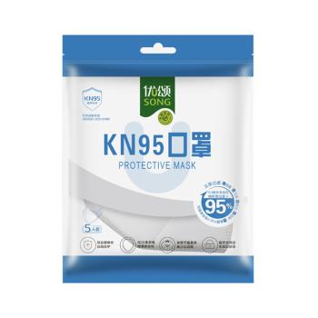 优颂KN95口罩 5片