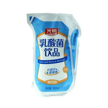 光明 乳酸菌饮品轻巧包(原味) 180ml/袋