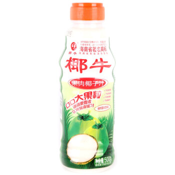 椰牛牌果肉椰子汁500g/瓶