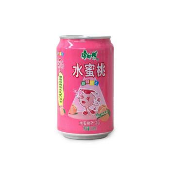 康师傅水蜜桃汁310ml/罐