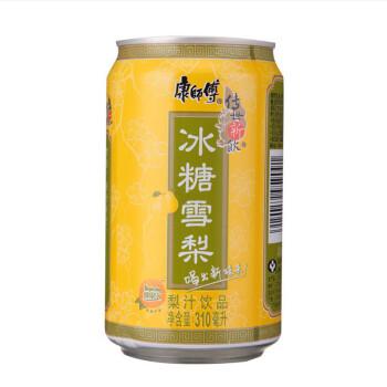 康师傅冰糖雪梨310ml/罐