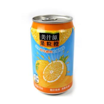 美汁源果粒橙310ml/罐