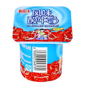 光明红枣酸奶100g/杯