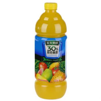 农夫果园30%芒果混合果蔬汁 1.8L/瓶