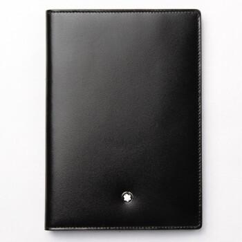 MONT BLANC 万宝龙 大班系列 男士牛皮护照套 黑色