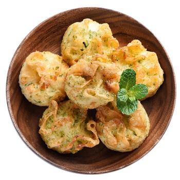 瑪魯哈日魯 日本原裝進口青海苔油炸蝦燒麥 104g 袋裝  半成品方便菜 自營海鮮水產