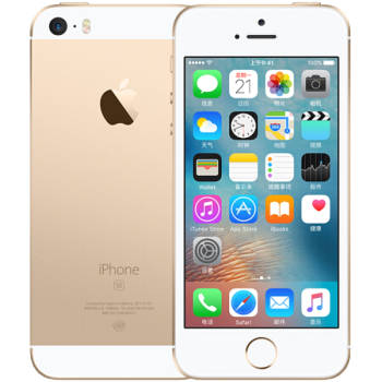 Apple iphone se 手机 金色