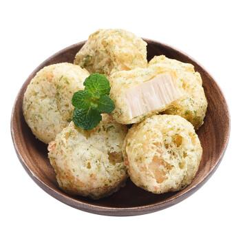 瑪魯哈日魯 日本原裝進口青海苔油炸扇貝風味魚糕 96g 袋裝  半成品方便菜 自營海鮮水產