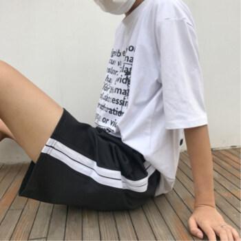 高腰阔腿裤,微胖美眉的小心机