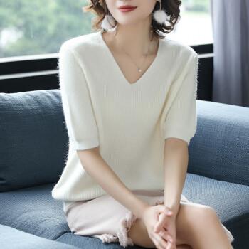 纯棉针织衫,穿出优雅小女人