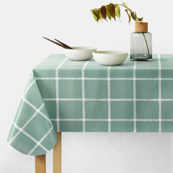 富居(FOOJO)防水防油防燙PVC免洗桌布臺布桌墊135*180cm
