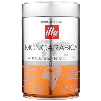 illy 阿拉比加单品咖啡豆 250g,半价 *3件+凑单品