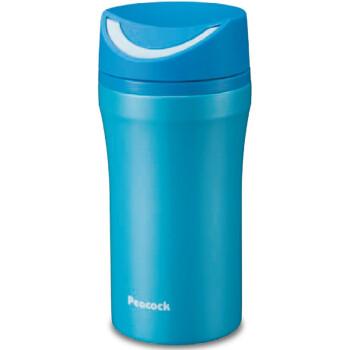 日本孔雀(Peacock)咖啡杯便携不锈钢保温杯办公室水杯男女士茶杯个性杯子316不锈钢 AAT-L35(A)