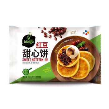 必品閣(bibigo)紅豆甜心餅250g(飯后甜點 微波速食 兒童早餐 餡餅)