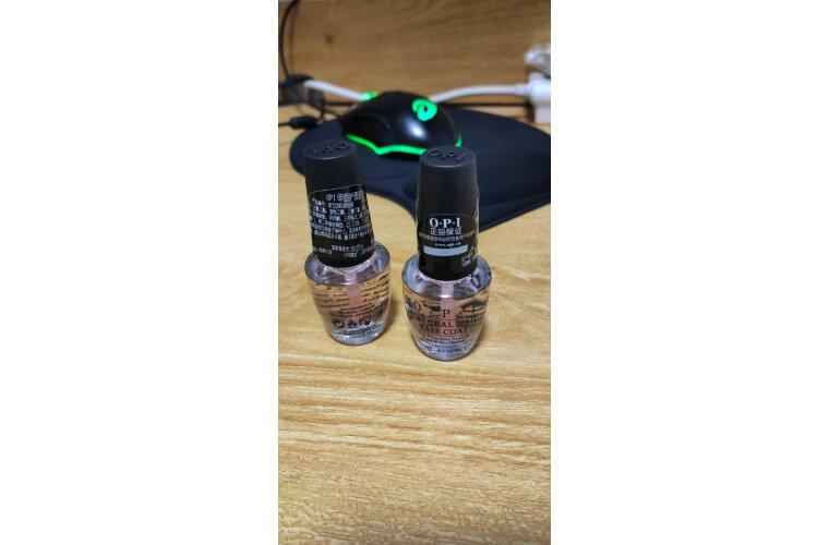 OPI透明护理底油15ml护理系营养护甲油持久环保裸色指甲油
