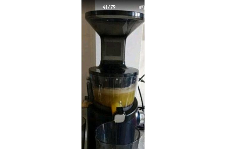 惠人(HUROM)H-101-DNBIA01原汁机创新无网韩国进口多功能家用低速榨汁机蓝焰