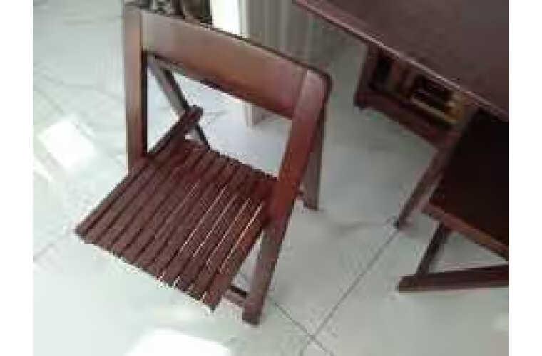摩高空间实木餐桌椅组合小户型折叠餐桌免安装新中式吃饭桌子饭桌方桌一桌四椅