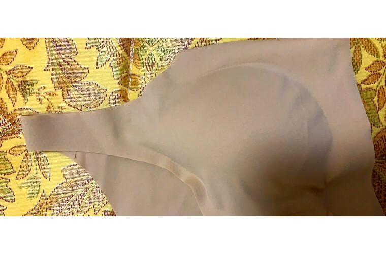 【欧阳娜娜同款】Ubras无尺码背心式可睡眠文胸A-C杯女士内衣无钢圈无痕飞机bra肤色文胸均码
