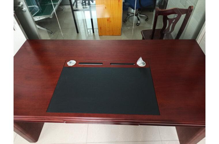 中伟办公家具老板桌大班台经理桌主管桌办公桌含侧柜