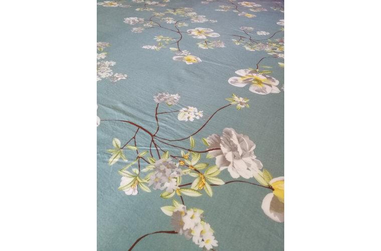 艾薇床单家纺双人纯棉玻尿酸床单单件锦绣前程1.5/1.8米床230*250cm