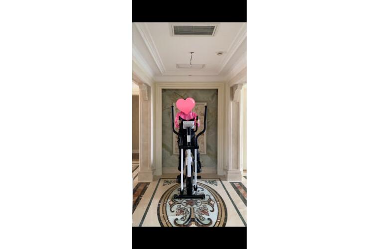 【锐步官方旗舰热卖爆款】Reebok英国锐步椭圆机家用椭圆仪静音健身器材智能电磁控健身单车阿迪达斯JET100E新款-物流闪电配送