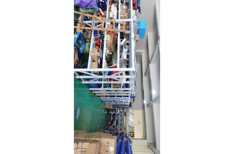 中伟仓储货架超市仓库架展示架中型2米四层副架