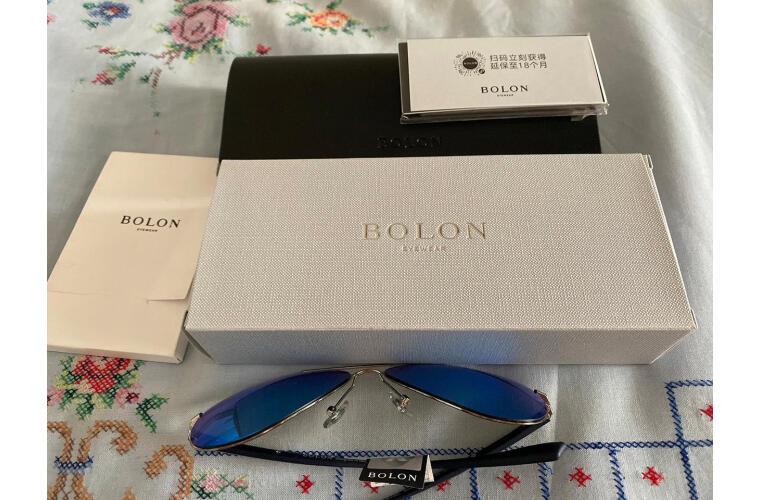 暴龙BOLON眼镜男款轻薄质感蛤蟆镜驾驶偏光太阳墨镜BL2362M17