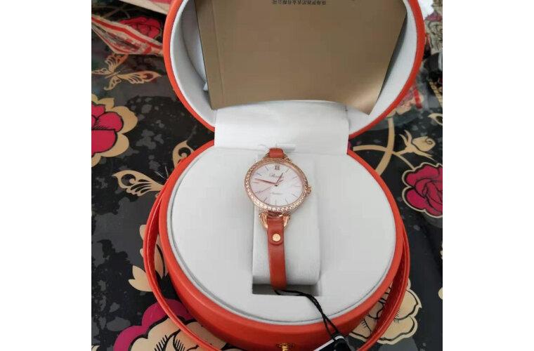 罗西尼(ROSSINI)手表CHIC系列学生手表女表表白送礼热荐时尚石英表皮带女士腕表手提包礼盒519898G08A