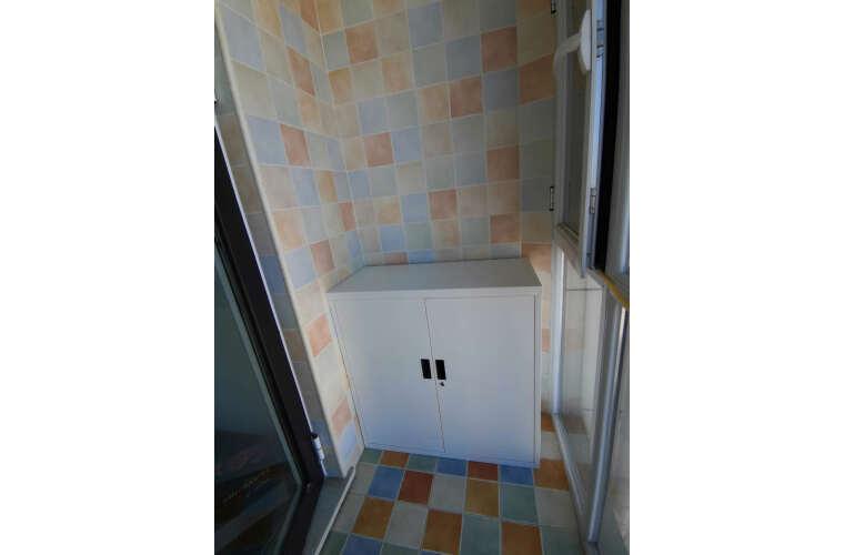 金经金属文件柜矮柜铁皮柜办公室资料柜钢制财务柜档案办公柜暖白铁对开1090高