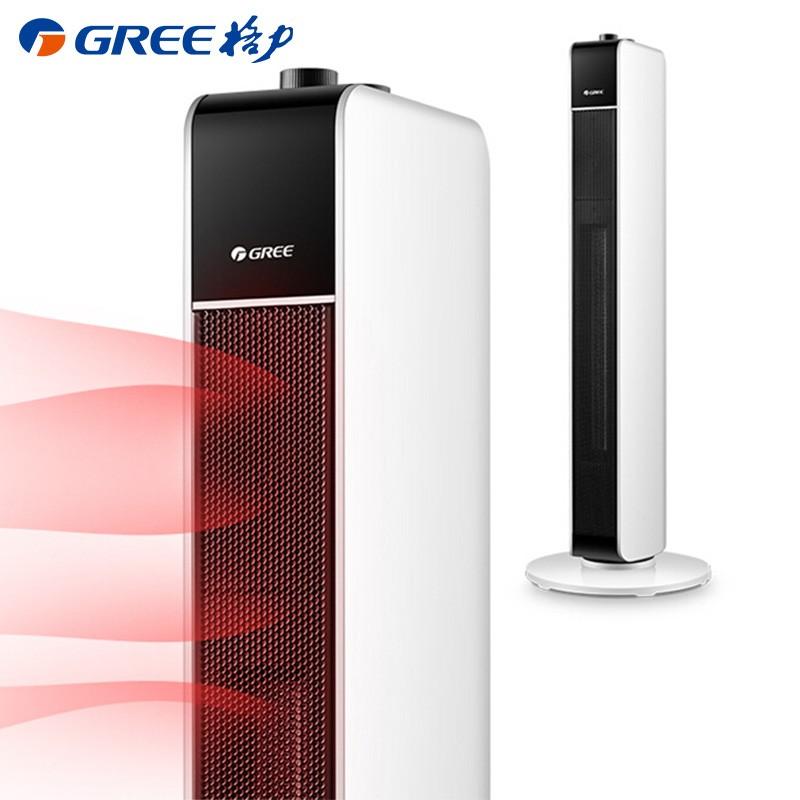 格力 (GREE)取暖器/电暖气/电暖器/暖风机家用 塔式电暖风机小型 NTFG-X6021