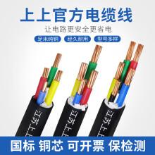 江苏上上电缆5/3/4/2芯户外国标10/16/25/35/50平方yjv铜芯电缆线 2芯10平方(米)