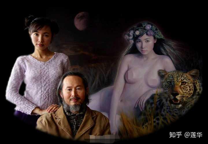 老画家创作巫山神女图请23岁女儿当人体裸模